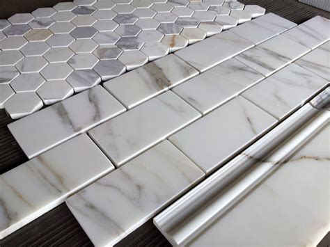 calacatta subway tile the builder depot blog
