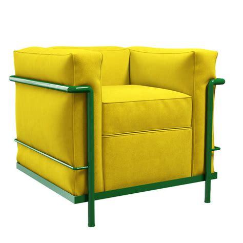 lc2 armchair cassina lc2 armchair 3d model max obj fbx cgtrader com