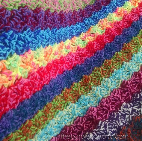 pattern for scrap yarn afghan crochet corner to corner scrap yarn blanket free pattern