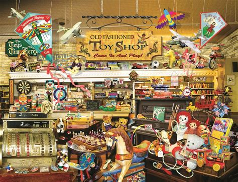 an old fashioned toy shop jigsaw puzzle puzzlewarehouse com