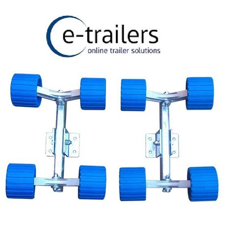 boat trailer wobble rollers and brackets boat jet ski trailers 8 wobble roller system 350mm