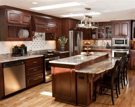 Countertops For Kitchen Islands by White Vs Wood Kitchen Cabinets Weddingbee