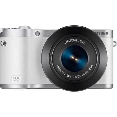 Kamera Samsung Mirrorless Nx300 samsung nx300 mirrorless digital with 45mm ev nx300zbyuus