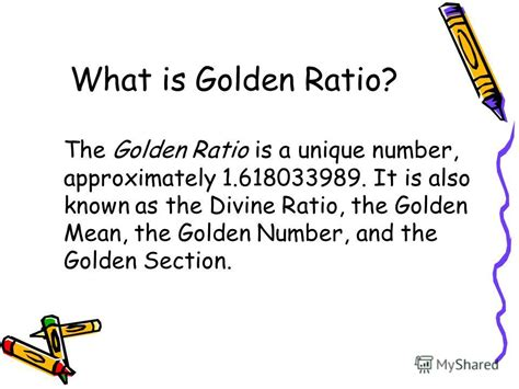 What Is Section 1 by Quot Golden Ratio What Is Golden Ratio