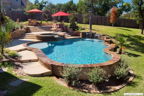 pool ideas pool designs freeform geometric vanishing edge