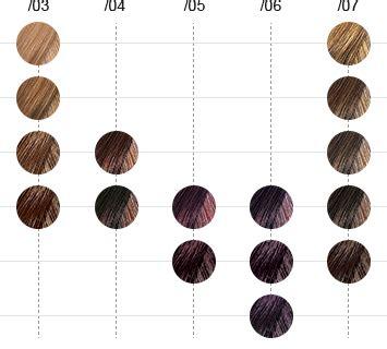 illumina color wella cartella colori wella color touch plus color chart wella hair colouring