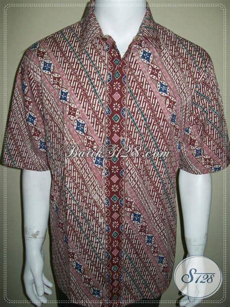 Hem Kemeja Batik S Xl Anak Cowok Parang kemeja batik parang kawung modern eksklusif dan elegan