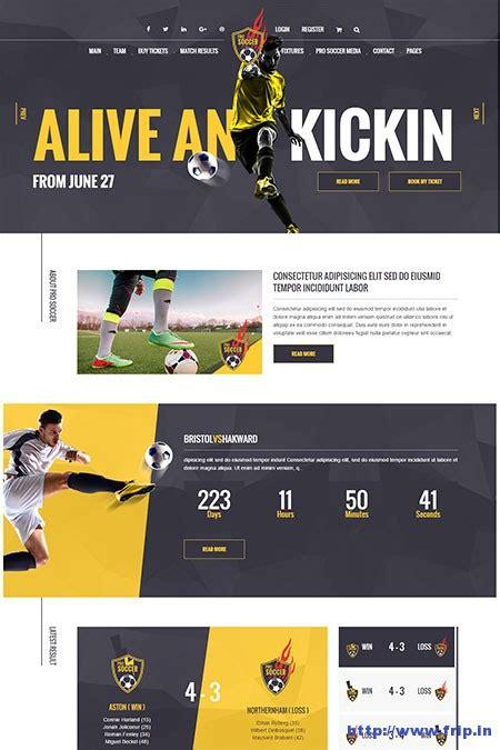 themes wordpress soccer 50 best sports wordpress themes 2017 free and premium
