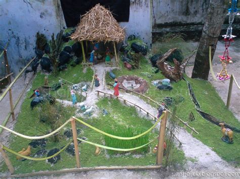 best christmas crib design pulkoodu crib creation contest at csi peringammala shai blogs