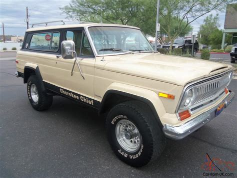jeep chief for sale 1978 jeep cherokee chief 4x4 automatic