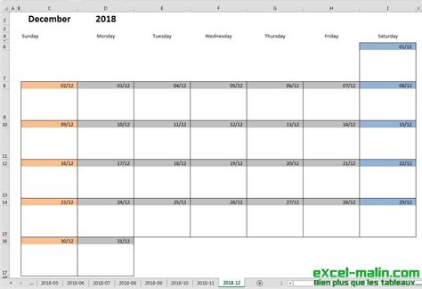 Printable Monthly Calendar Template For Excel Excel Malin Com Monthly Calendar Template