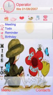 n73 themes love miss you download miss you s60v5 theme nokia theme mobile toones