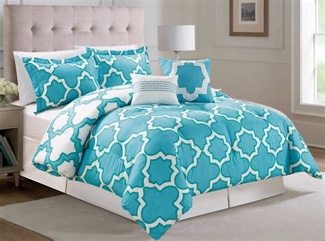 6 piece capetown reversible comforter set