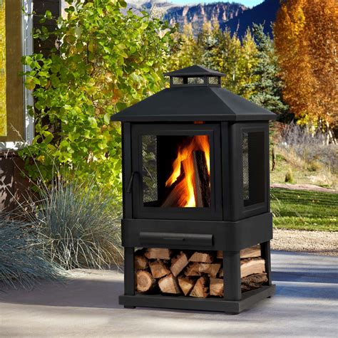 portable outdoor fireplaces wood burning portable outdoor wood burning fireplace home design ideas