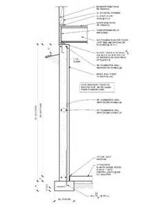 spread footing foundation evstudio architect engineer