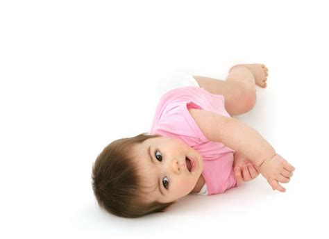 Baby Rolled secrets of baby behavior babies firsts the science rolling