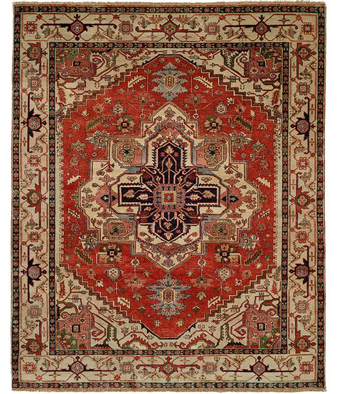 hri rugs serapi heritage collection design sh 14c ivory hri rugs harounian rugs international