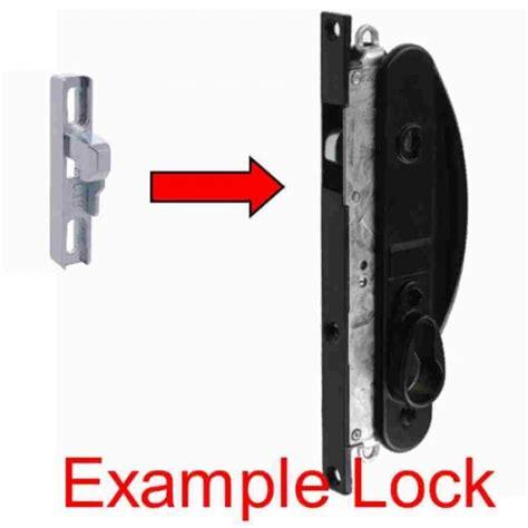 door lock keeper whitco sliding screen lock keeper narrow