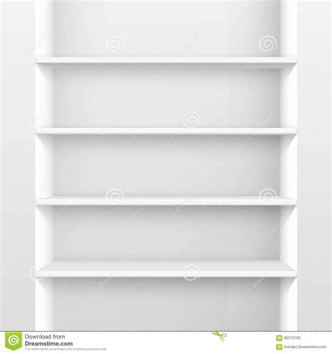 empty shelf wallpaper vector white empty shelf shelves isolated on wall