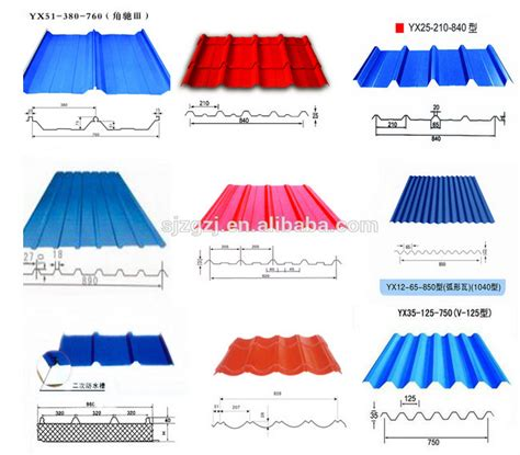 sheet types type of corrugated roofing sheet material zinc aluminum