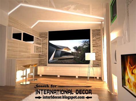 Living Room False Ceiling Ideas   Coma Frique Studio