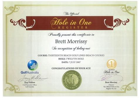 Free In One Certificate Template by Printable Golf Gift Certificate Template Quotes