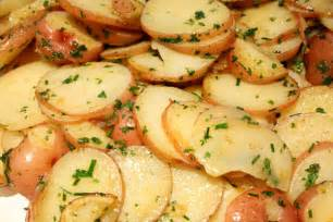 different ways to cook potatoes in salads with shallots