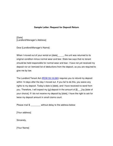 Request For Refund Letter Format   Letter Format 2017