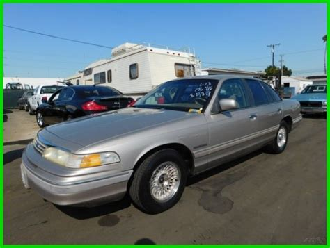how petrol cars work 1994 ford crown victoria on board diagnostic system 1994 ford crown victoria lx used 4 6l v8 16v automatic sedan premium no reserve