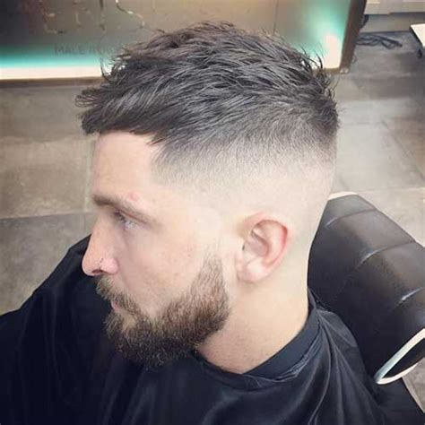 hair parting comes forward outstanding fade haircuts for cool guys mens hairstyles 2018