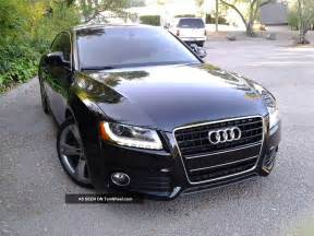 2009 audi a5 quattro s line coupe 2 door 3 2l black