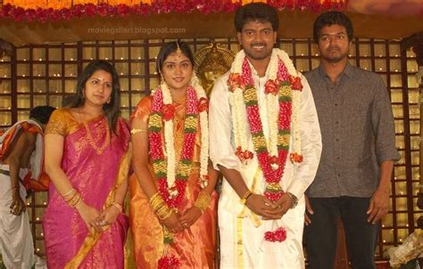 actor vijay marriage vj vijay s brother marriage