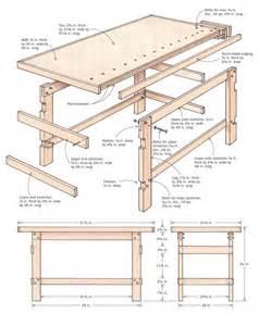 Stand Up Desk Plans by Workbench Woodwork Pinterest Madeira Woodworking