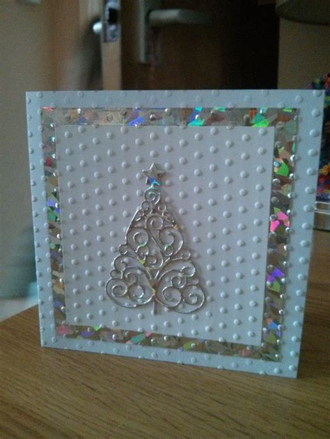 handmade christmas card christmas tree my cards pinterest
