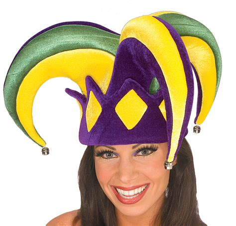 Hide Hair Horrors With A Myperennial Hat by Mardi Gras Jester Hat Costumes