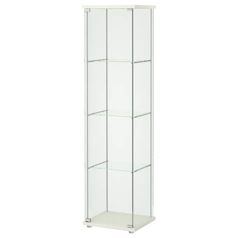 Locker Cabinets by Detolf Glass Door Cabinet White 43x163 Cm