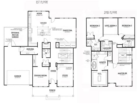 Craftsman Cottage Floor Plans Craftsman Bungalow House Plans Bungalow House Floor Plans