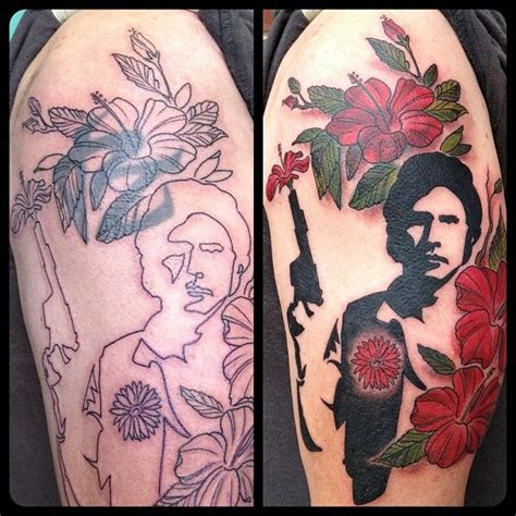 tattoo cover up instagram han solo cover up tattoo and instagram photo by