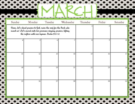 printable calendars com the blogging pastors wife printable calendars for march 2012
