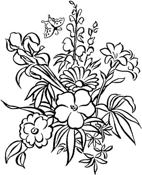 coloring pages of flowers hard hard flower coloring pages free bestappsforkids com