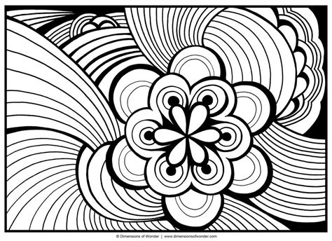detailed abstract coloring page detailed abstract colouring pages 185255 abstract coloring