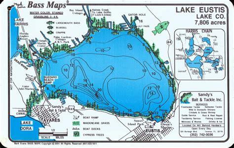 lake eustis in eustis city en la florida centro