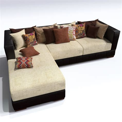 sofa kingston sofa kingston 3d model