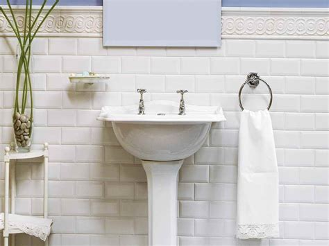 White Tiled Bathrooms by New White Subway Tile Bathroom Temeculavalleyslowfood