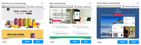 What Kind Of Website Is Right For You Wix Landing Page Templates
