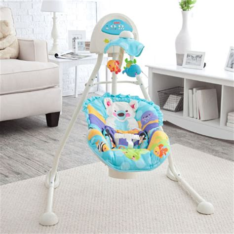 baby swing blue blue sky cradle baby swing can turn your nursery into a