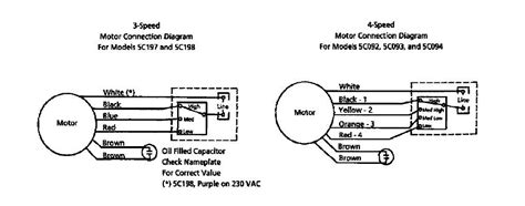 4 wire ge motor wiring diagram get free image about