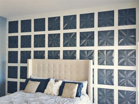 How To Hang Wainscoting - remodelaholic board and batten feature wall with 3d wall panels