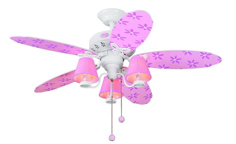 girls ceiling fans ceiling fans with lights for little teen girls rooms