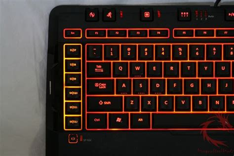 Microsoft Sidewinder X6 microsoft sidewinder x6 gamer keyboard review